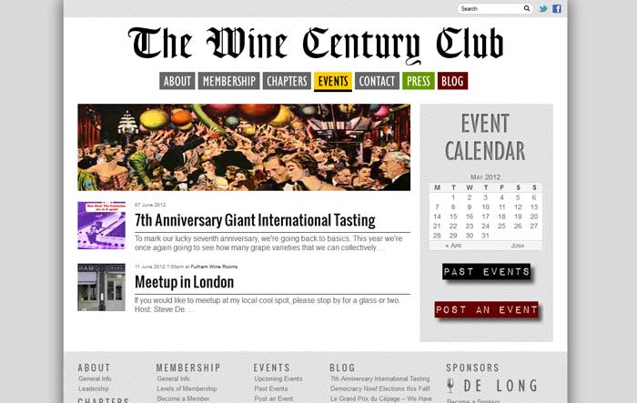 New Wine Century Club Site